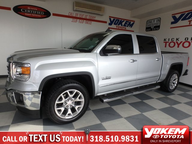 Pre Owned 2017 Gmc Sierra 1500 Slt Crew Cab Pickup In Shreveport 75758a Yokem Toyota