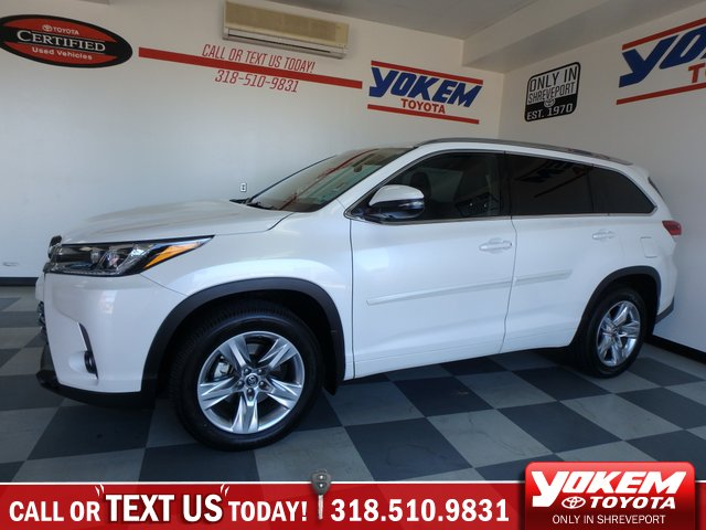 Certified Pre Owned 2017 Toyota Highlander Limited