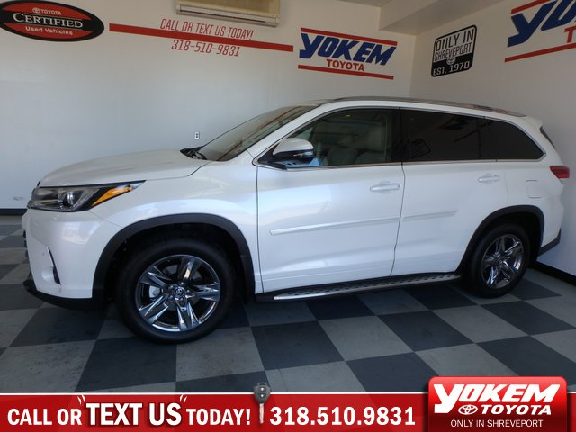 Toyota Highlander Limited >> Pre Owned 2019 Toyota Highlander Limited Platinum Sport Utility Fwd