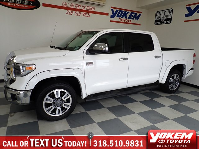 Pre-Owned 2019 Toyota Tundra 4WD 1794 Edition