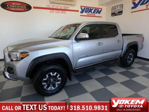 Certified Pre-Owned 2018 Toyota Tacoma TRD Off Road