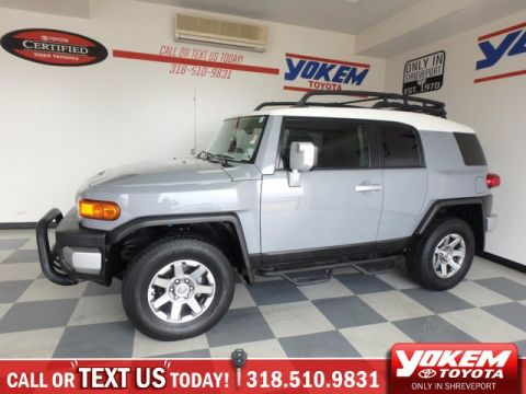Pre-Owned 2014 Toyota FJ Cruiser 4DR 4WD AT